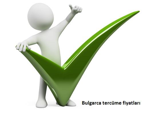 bulgarca tercüme fiyatları