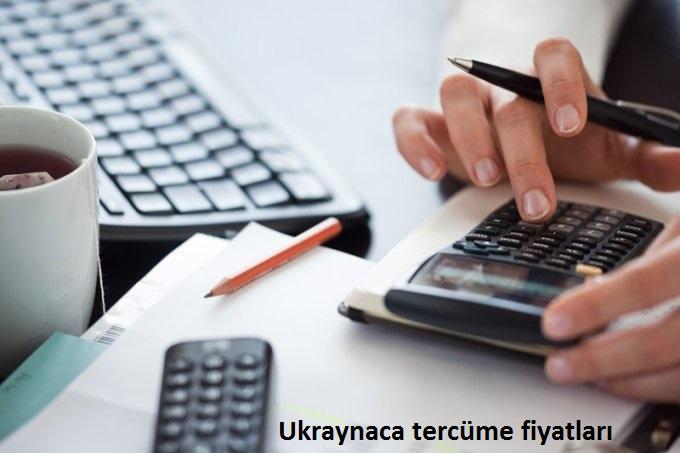 ukraynaca çeviri fiyatları